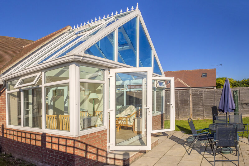Glass Conservatory in Chester Cheshire